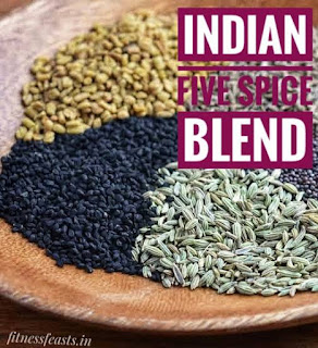 Indian five spice blend