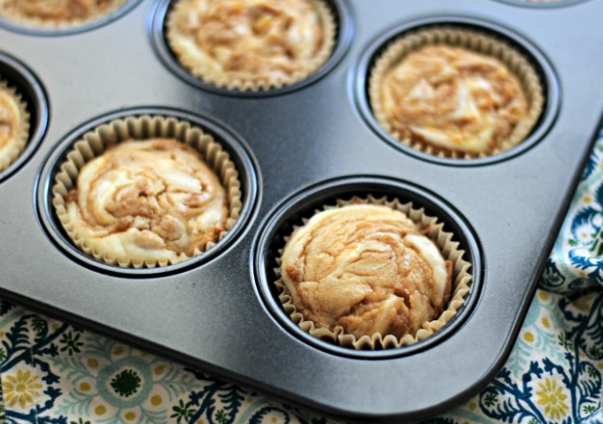 Pumpkin Cream Cheese Muffins #Pumpkin #dessert