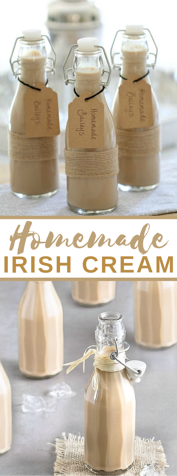 HOMEMADE BAILEYS IRISH CREAM (COPYCAT) #drinks #simplerecipe