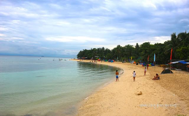 Lambug Beach in Badian