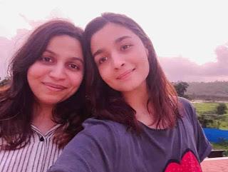 Alia Bhatt With Her Sister