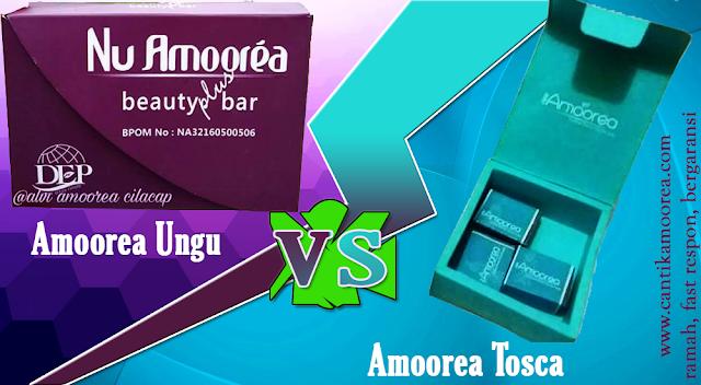 Sabun Amoorea Tosca atau Amoorea Ungu