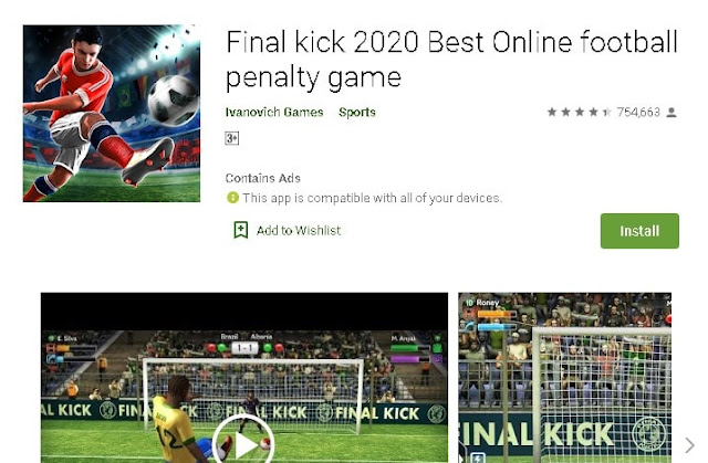 best football games in android