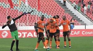 نهضة بركان يحقق فوز ساحق علي فريق إيزاي بخماسية في الجولة الخامسه من كأس الكونفيدرالية الأفريقية