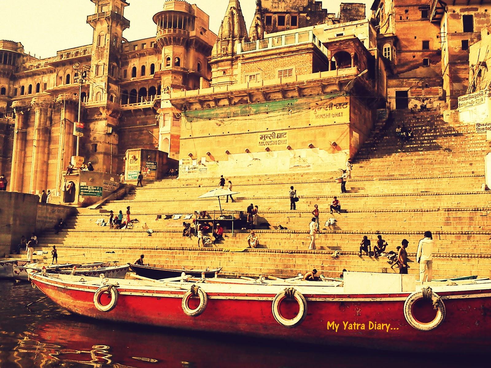 Munshi Ghat in Varanasi dedicated to Munshi Premchand.