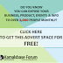 FREEBIE ! HOW TO ADVERTISE YOUR BLOG, EVENT, BUSINESS FREE FOR ONE WEEK