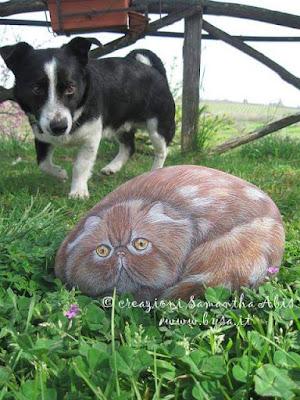 Sassi dipinti gatti prezzi