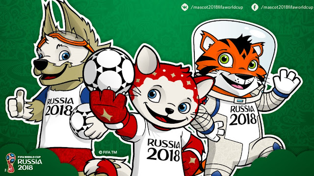 official mascot of 2018 fifa world cup