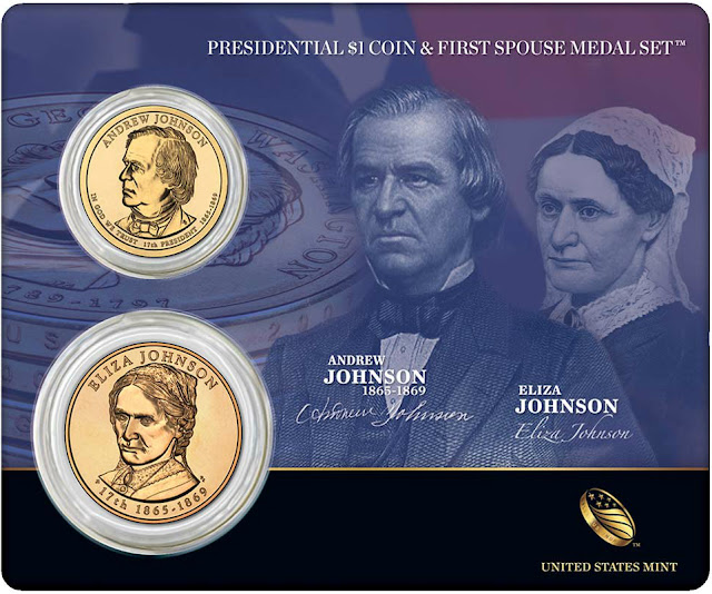 President Andrew Johnson & First Spouse Eliza Johnson