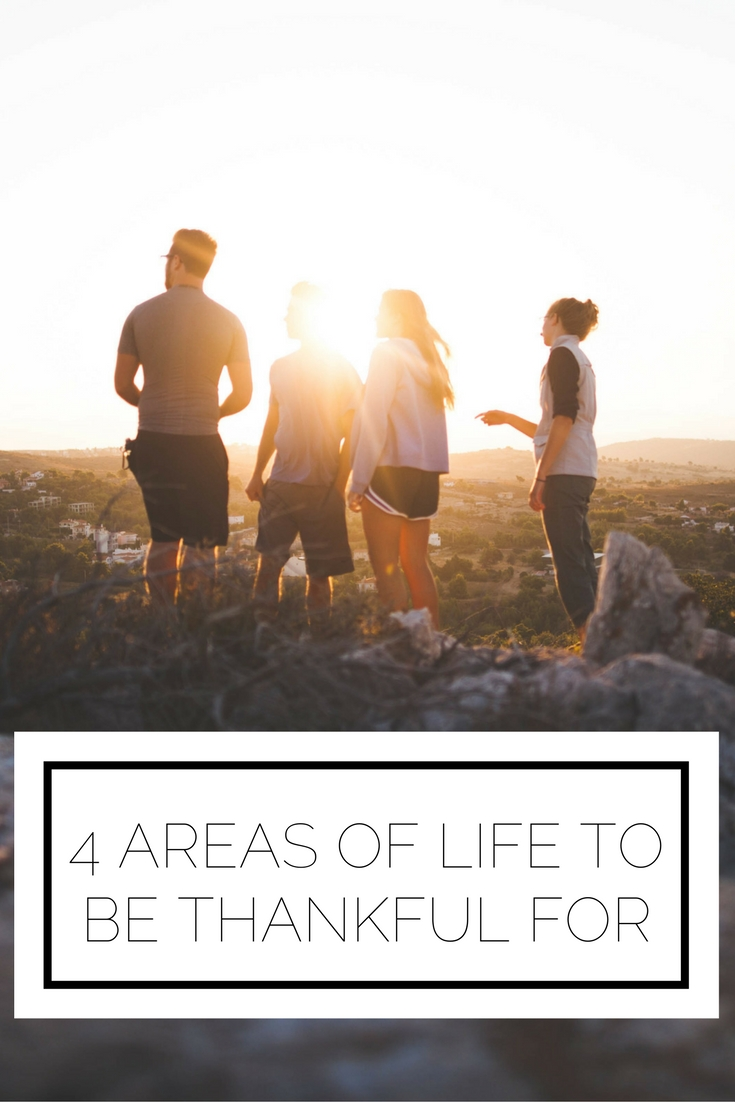 Click to read now or pin to save for later! Gratitude is the secret to happiness so here are 4 areas of your life where you can see and express gratitude