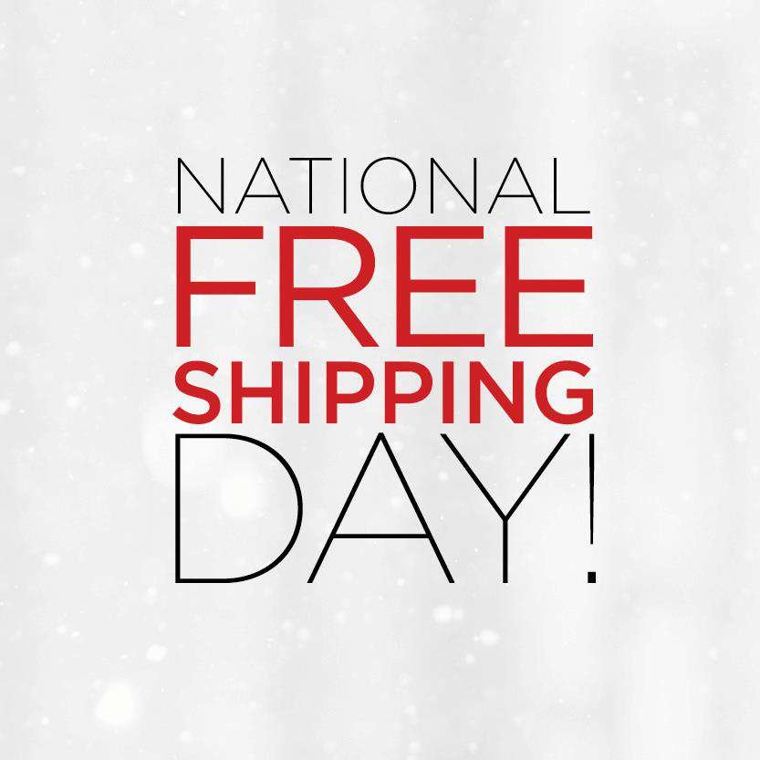 National Free Shipping Day Wishes Images