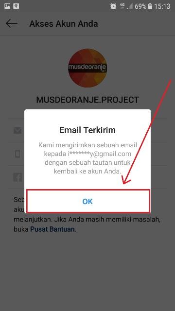 Cara Membuka Instagram Yang Lupa Password Dan Email Musdeoranje Net