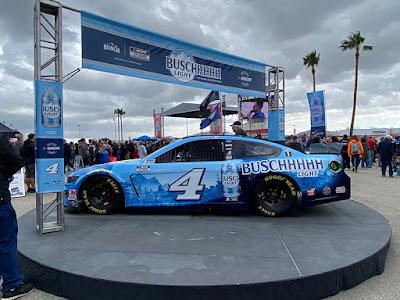 Busch Beer Block Party #NASCAR Race Car