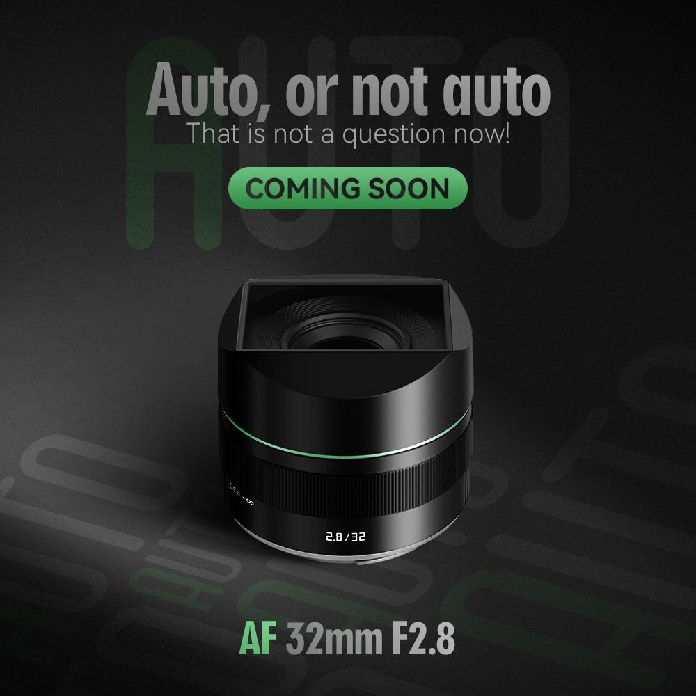 TTArtisan AF 32mm f/2.8 Z