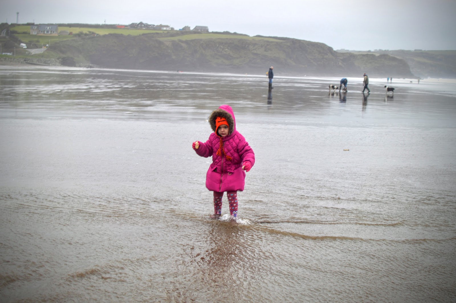 , Breezy Broad Haven Beach, Pembrokeshire