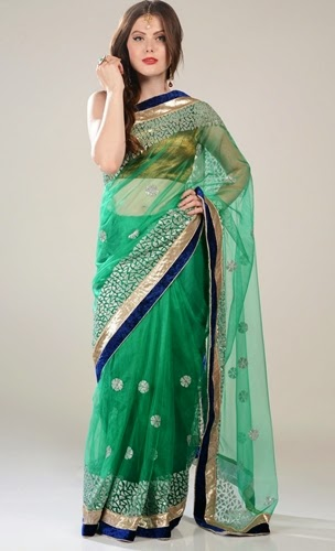 Bridal Saree and Lehenga Designs