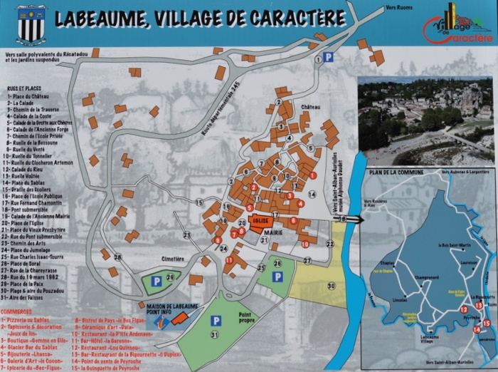 Carte Labeaume