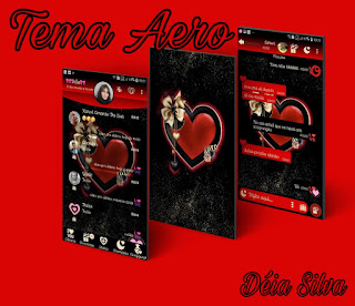 Red Loves Theme For YOWhatsApp & Fouad WhatsApp By Deia Silva