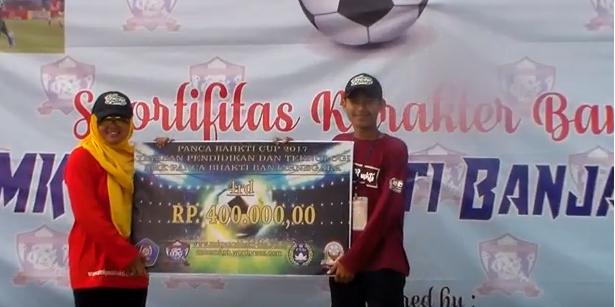 Juara 3 Liga OSIS SMK Panca Bhakti Banjarnegara 2017