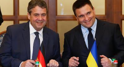 Глави МЗС Німеччини та України обговорили ситуацію на Донбасі та в Криму