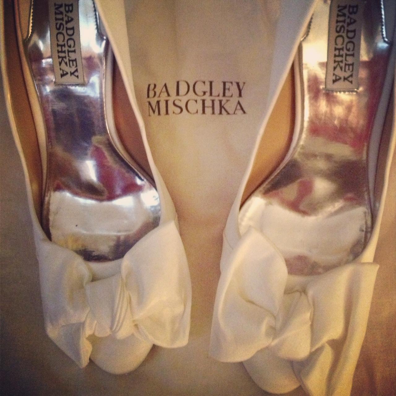 Badhley Mischka Wedding Shoes