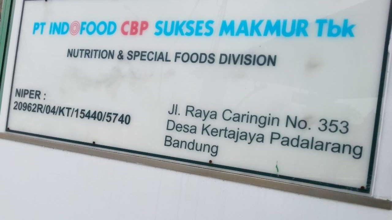Loker Pt Indofood Cbp Sukses Makmur 2020 Padalarang Bandung 2021