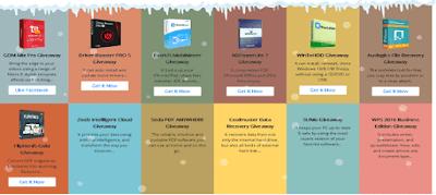 البرامج التي تم طرحها الموقع