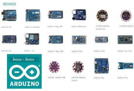Jenis – Jenis Papan Arduino