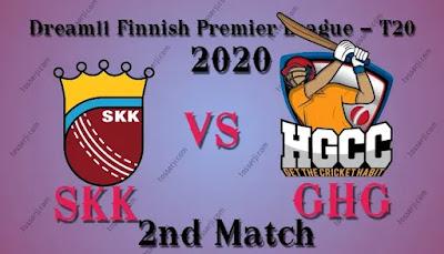 Who will win SKK vs GHG 2nd T20I Match
