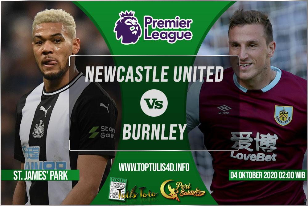 Prediksi Newcastle United vs Burnley 04 Oktober 2020