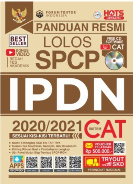 Buku tes IPDN Best Seller gramedia