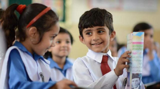 pakistani school children