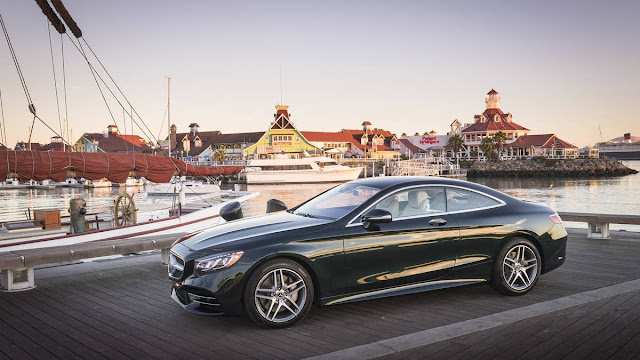 2018 New Mercedes-benz S560 comfortable side view