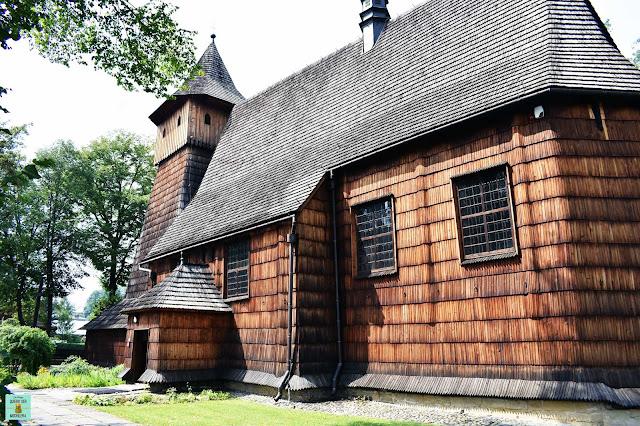 Iglesia de Binarowa, Polonia