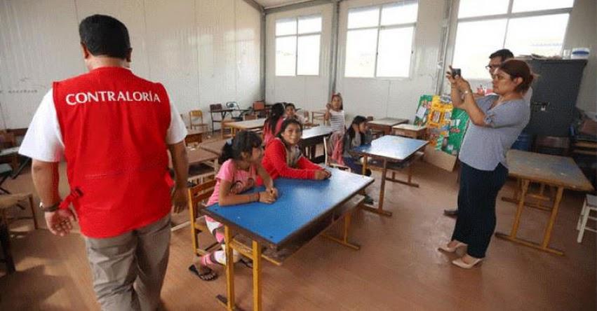 Deficiencias en colegios públicos de la región La Libertad podrían afectar metas, según informe de la Contraloría General de la República