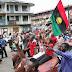 IPOB disrupts Anambra Governorship Aspirant Speech at Ogbaru Church