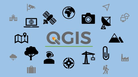 GIS in QGIS 3 for beginners (project and e-book)