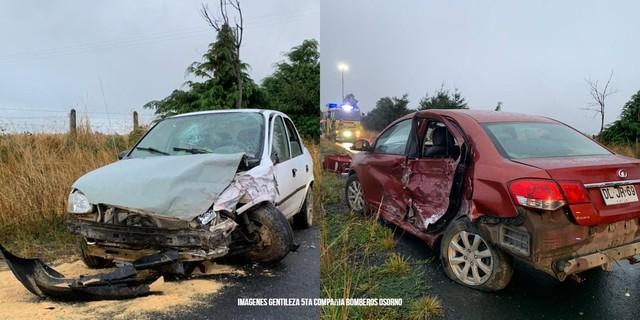 Accidente en la ruta internacional 215