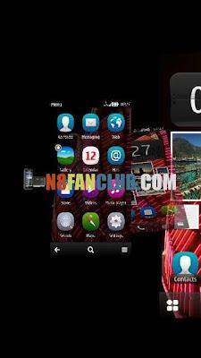 Nokia 808 Pure View - Custom Theme Effects via Custom Firmware CFW from N8 Fan Club