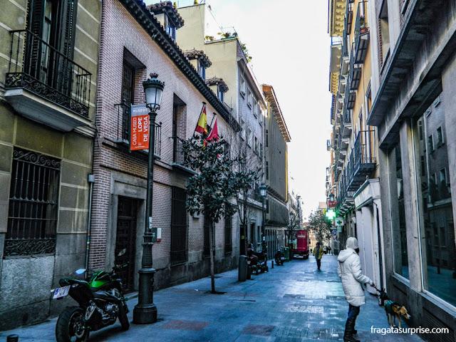Casa Museu Lope de Vega, Barrio de las Letras, Madri