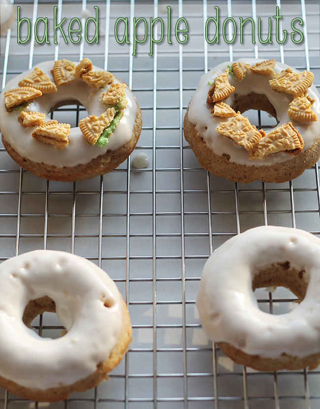Baked Apple Donuts {with Caramel Apple Oreos!} // A Style Caddy