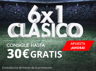 suertia promocion clasico Real Madrid vs Barcelona 23 abril