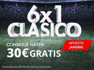 suertia promocion clasico Real Madrid vs Barcelona 23 abril