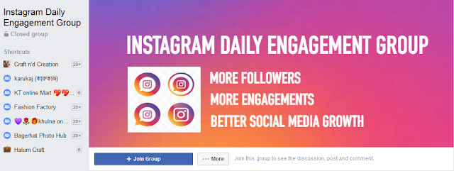 Instagram Daily Engagement Group