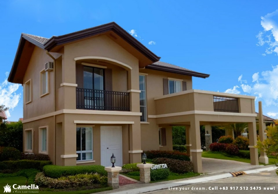 Greta - Camella Vita Tierra Nevada| Camella Prime House for Sale in General Trias Cavite