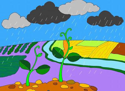 Giáo án mầm non mưa đối với đời sống con người