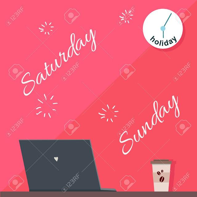 Mengapa hari sabtu dan minggu menjadi hari libur ?