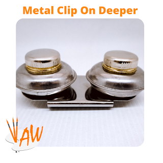 CLIP ON DEEPER DOUBLE METAL
