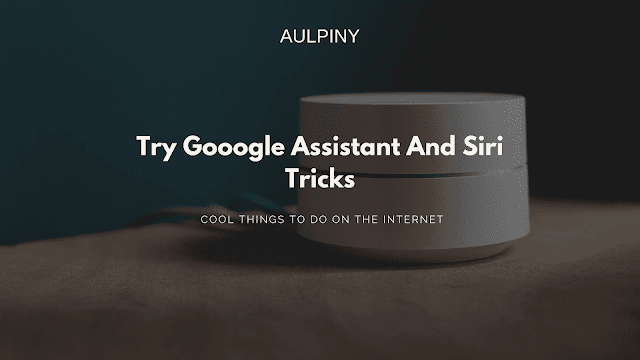 Try Gooogle Assistant And Siri Tricks