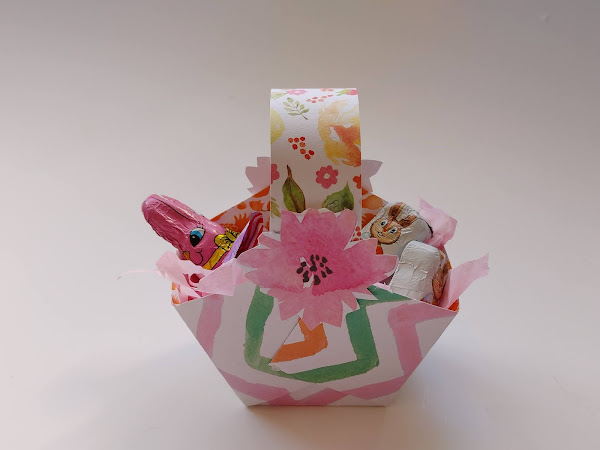 Easiest Ever Paper Basket to Make for Easter or Anytime